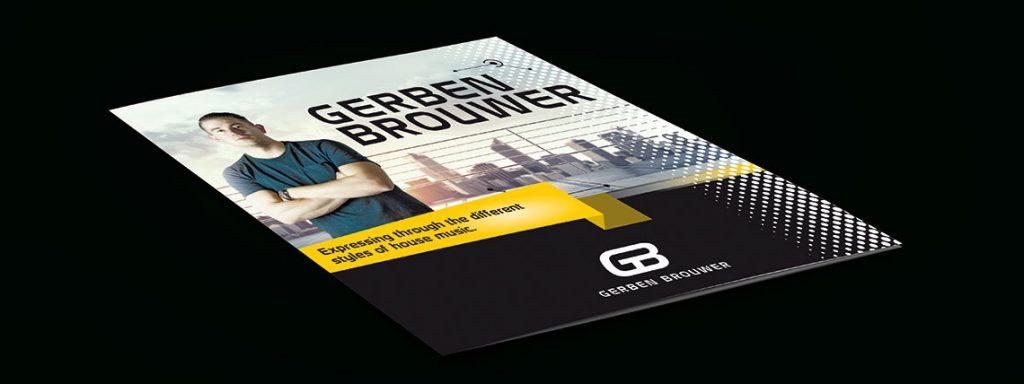 Gerben Brouwer folder artist info